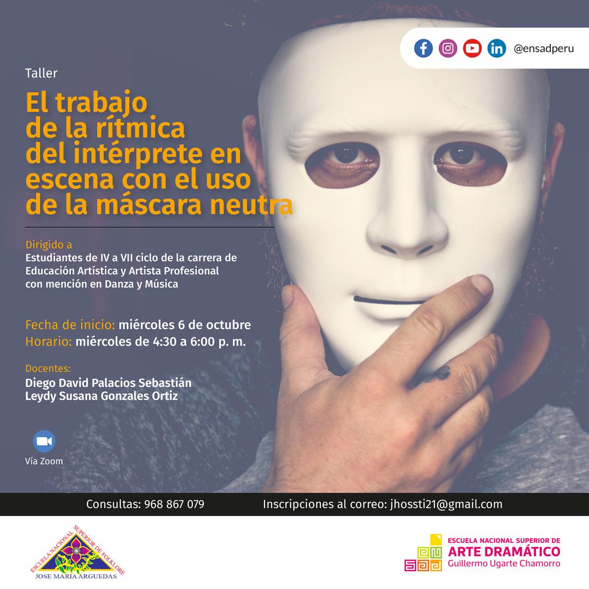 CICLO DE TALLERES ARTÍSTICOS